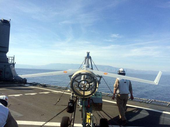 Scan Eagle de la Armada Española. Undécima escuadrilla