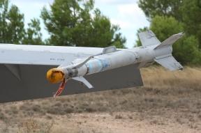 Misil AIM-9 Sidewinder (Foto: Fco Javier Chao)