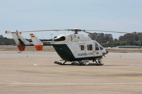 HELICOPTERO BK-117 SAER GUARDIA CIVIL