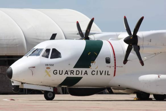 CN-235 09-501 SAER GUARDIA CIVIL