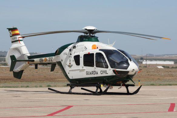 HELICOPTERO ec-135 SAER GUARDIA CIVIL
