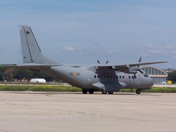 cn-235 ejercito del aire