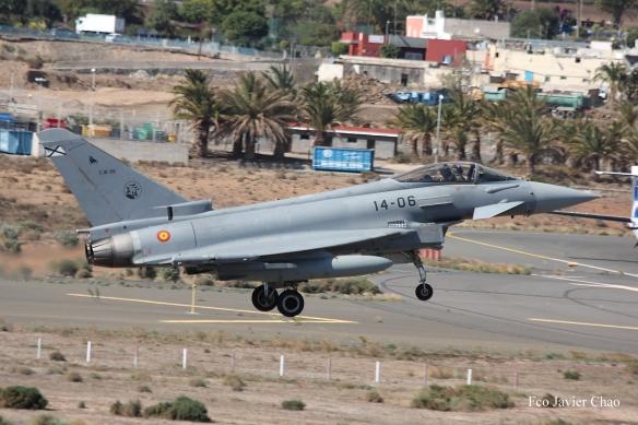 Eurofighter ejercito del aire