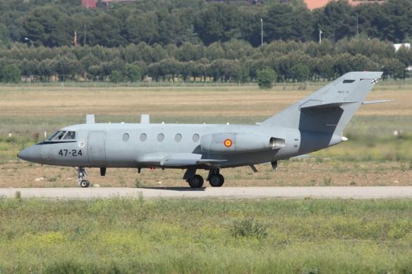 falcon-20 ejercito del aire