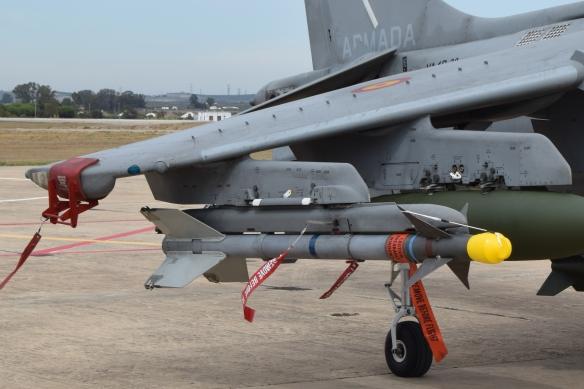 Misil AIM-9 I SIDEWINDER arma aerea