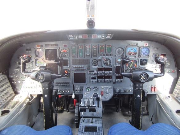 Cabina Cessna Citation V