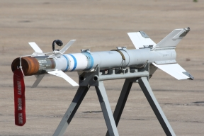 Misil AIM-9 F-5 (Foto: Fco Javier Chao)
