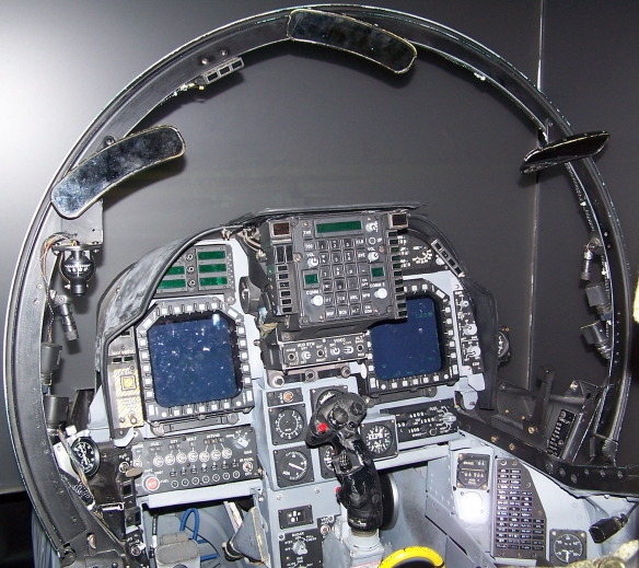 Simulador cabina AV-8B