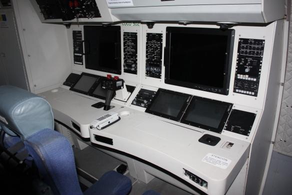 consolas de operador cn-235 guardia civil