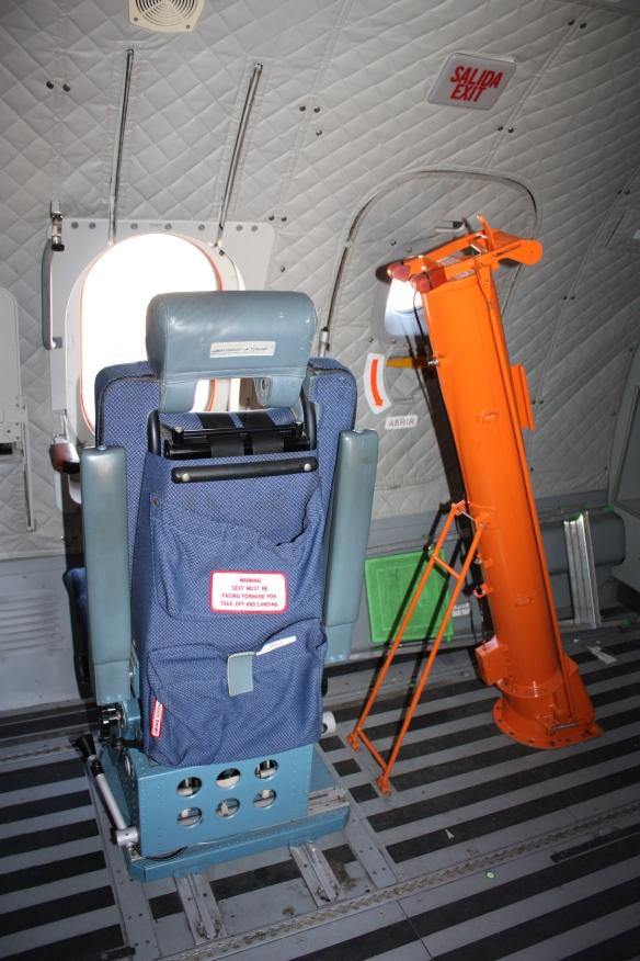 Observador CN-235 guardia civil