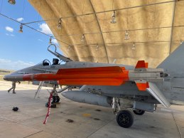 Misil IRIS-T (Foto: Ejercito del Aire)