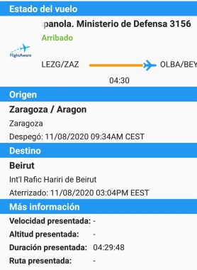 Seguimiento del vuelo AME3156 a través de @flightaware