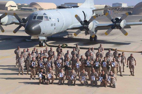 13.000 horas de vuelo del Destacamento orión dentro de la Operación Atalanta (Foto: EMAD)