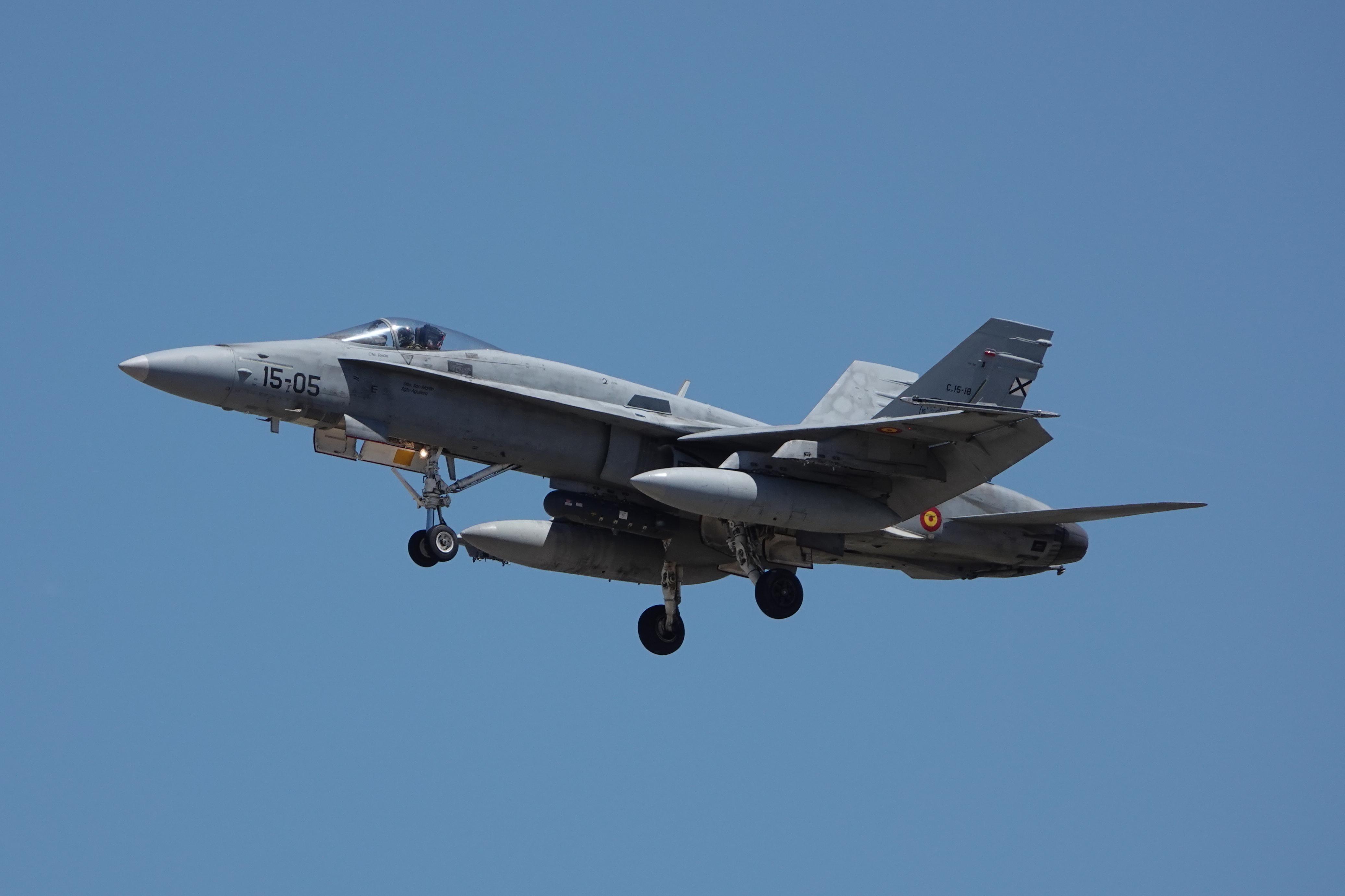 F-18 15-05