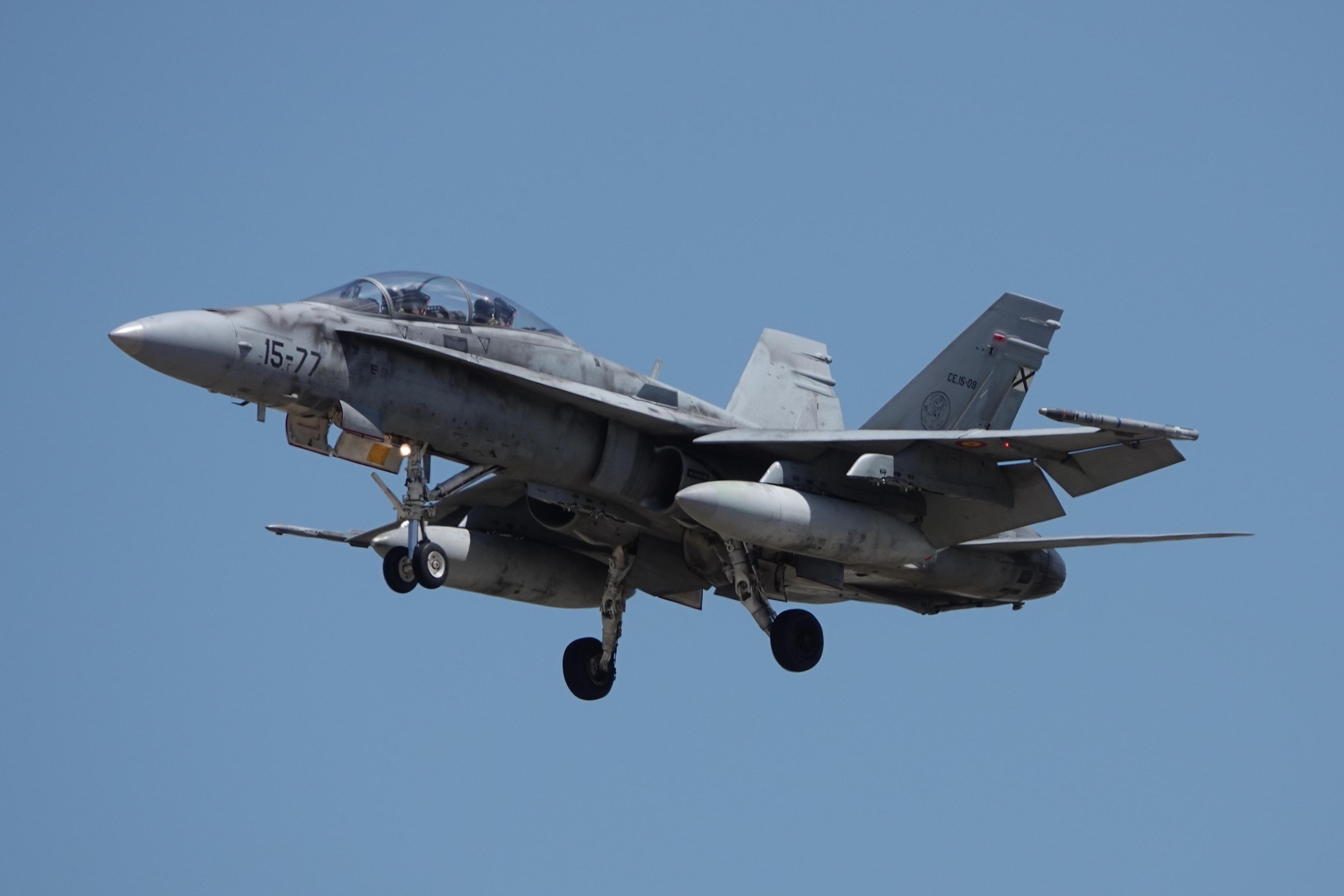 F-18 15-77 ALA15