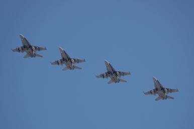 Formación F-18 (Foto: Fco Javier Chao)