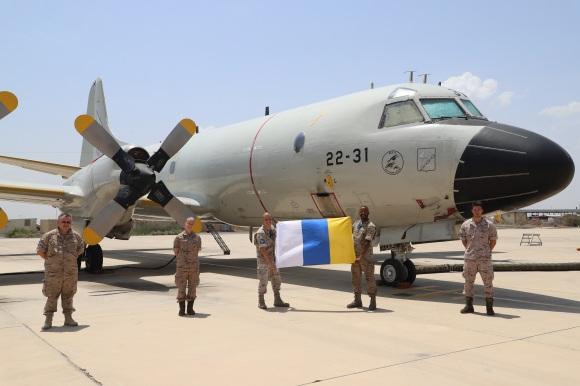 Imágenes del P.3M-08/22-31 estacionado en Djibouti (Imagen @EMADmde)
